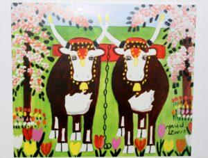 モードルイス 牛の絵/Maud Lewis Cows