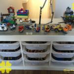 IKEA HACK* 収納重視のレゴテーブルが完成!