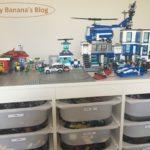 最近のレゴテーブルは作業台というより「レゴタウン」