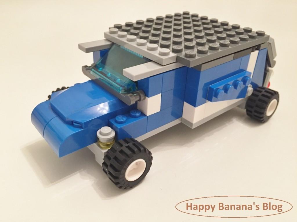 5/30 今日のレゴ作品「キャンプに行く車」