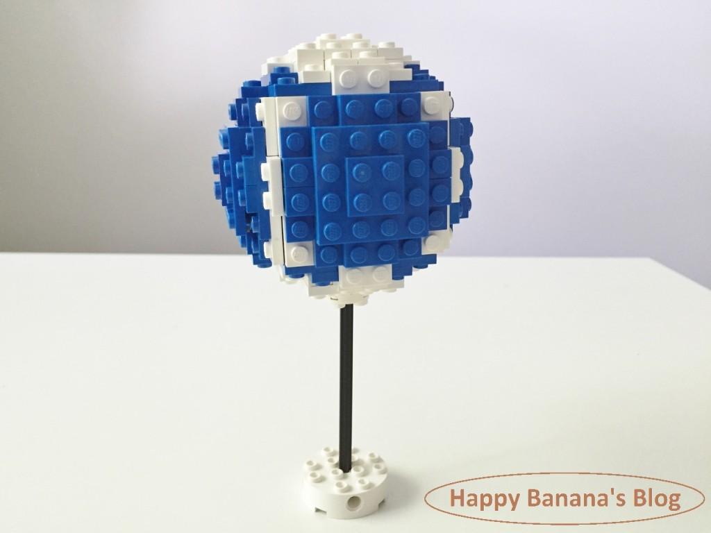 6/20 今日のレゴ作品「レゴで球体」