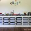IKEAのTROFASTで「レゴテーブル」を収納重視リニューアル!