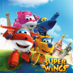 男の子向けの無料英語アニメ発見★ロボットに変形する飛行機「Super Wings」