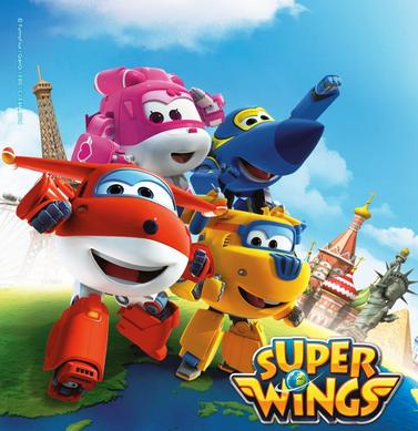 無料アニメ「Super Wings」で英語教育!飛行機型ロボットが出てきて男の子におすすめ!