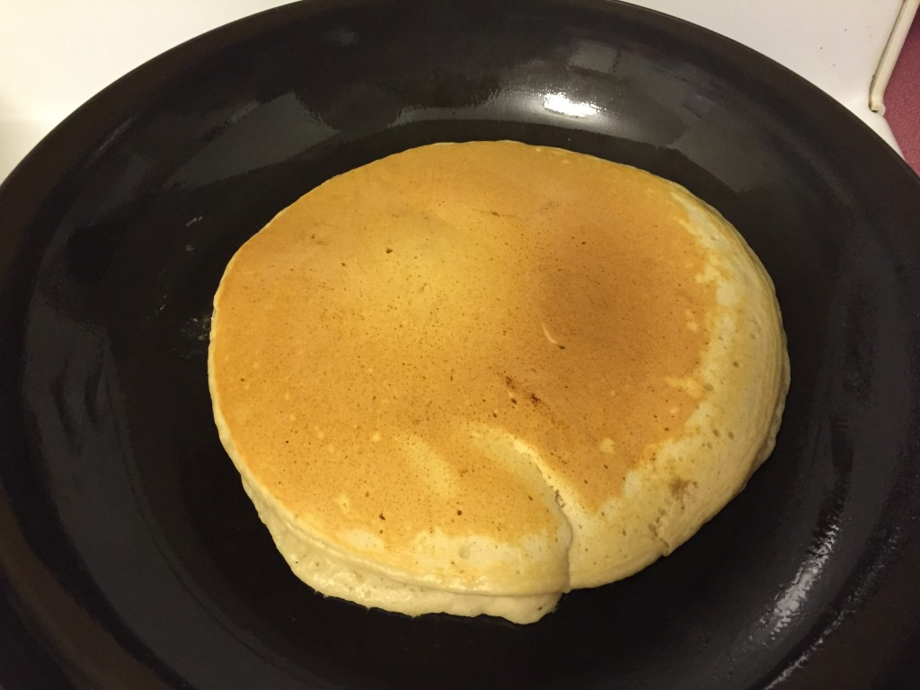 中力粉で作る激安な自家製ホットケーキミックス。休日の朝食にホットケーキを♪