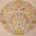 大人の塗り絵『ひみつの花園』6月、色の組合せは「配色サイト」を参考にすると良いかも。