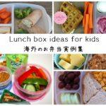 アメリカやカナダ、海外の子供たちの「お弁当」実例15選!調理不要?!こんな簡単なお弁当でいいんです!