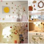 お金をかけずに手作りクリスマスDIY&壁を水玉模様に!