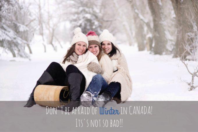 カナダの冬が心配?大丈夫!案外、日本より快適ですよ!温暖な地で育った私も、元気に生きてますw