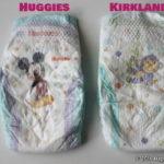 オムツ比較!Costco「Kirkland」と「Huggies」が同一商品って本当!?品質や使い勝手を比較検証します!