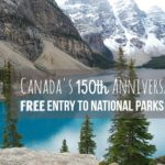 2017年はカナダ観光がお得!建国150周年で国立公園・史跡が全て無料ですよ!フリーパスの入手情報もまとめます。