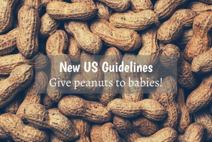 米政府新指針:ピーナッツは生後半年から与え、アレルギー予防!離乳食の進め方が大きく変わる!?