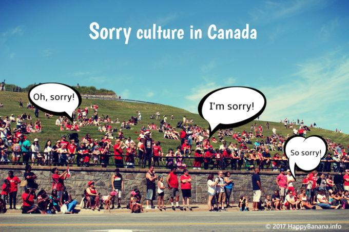 まるで日本人!?謝罪文化の根付くカナダでは、こんな場面でもSorryを言う!