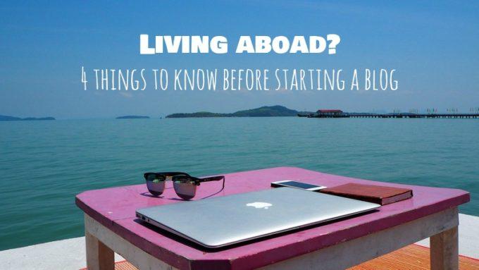海外在住ブロガーに告ぐ!本気でブログやるなら絶対注意すべき4つのこと。