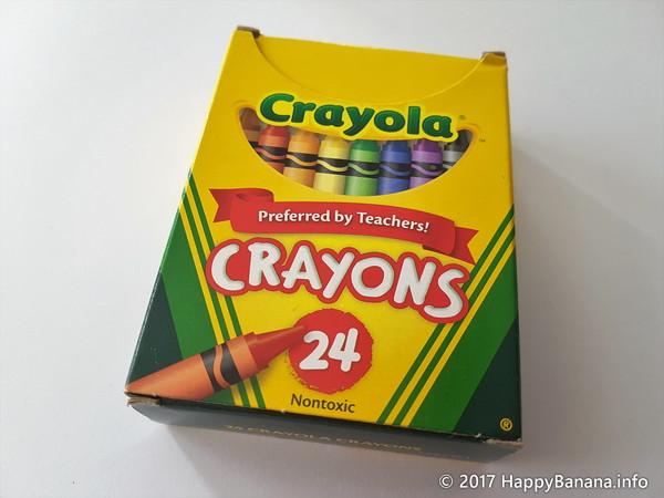 海外のクレヨン「Crayola」が期待を裏切りすぎる件。
