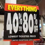 【11/18更新】シアーズカナダ全店閉店セール!今週の割引率は?Sears Homeの情報も!
