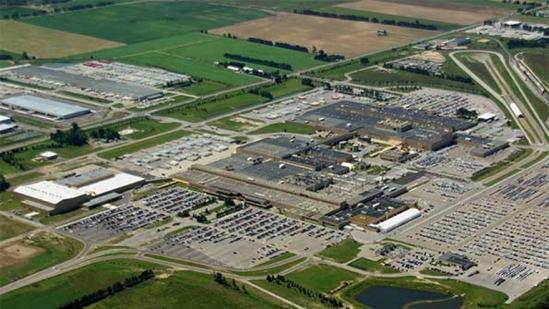 オンタリオ州ニューティカムシーのアリストンにあるホンダカナダの工場
