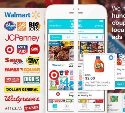アメリカ・カナダの広告まとめアプリ「Flipp」