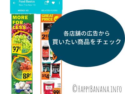 広告アプリFlippを使って買い物リストをチェックする方法